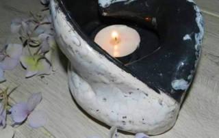 Keramička posudica za svijeću